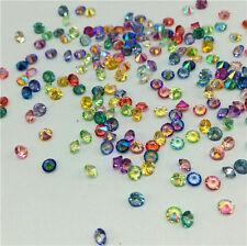 500Pcs Mix AB Crystal Birthstones Floating Charm for Glass Living Memory Locket