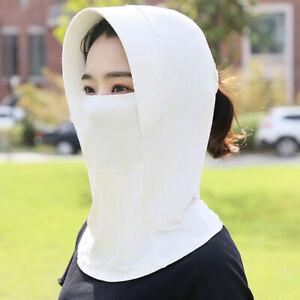 Women Sun Protection Hat UV Protection Face Neck Flap Sun Cap Sunscreen Hat Z