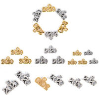 100Pcs/Set Antique 2020 Year Number 2020 Charms Pendants DIY Jewelry FindingsSE