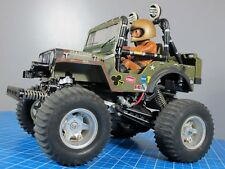 Vintage original 1982 Tamiya 1/10 RC Wild Willy M38 Jeep for Parts or Restore