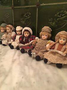 French Vintage Decorative Collectors Dolls