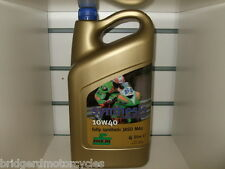 Rock Oil Synthesis 10W40 Fully Synthetic Motorcycle Engine Oil 4 Litre