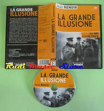 DVD film LA GRANDE ILLUSIONE Jean Gabin Erich Von Stroheim  no mc lp vhs cd(D6)