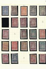 0511 Argentina ( revenue) 1920   Nice lot of stamps see scan