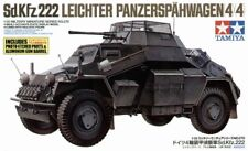 Tamiya 1/35 Sd.Kfz. 222 with photo etched parts # 35270