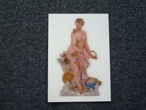 "JEFF KOONS NGV EXCLUSIVE ""Venus"" Lenticular Postcard 2020 Triennial Exhibition"
