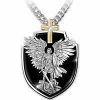Engelsflügel Kreuz Feuerbestattung Memorial Anhänger Urne Halskette Asche Halter
