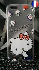 ★★★ Coque Plastique Rigide Housse Apple IPHONE 6 - Hello Kitty Noeuds ★★★