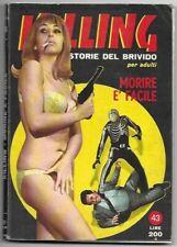 KILLING - STORIE DEL BRIVIDO - FUMETTO PER ADULTI - 1968 - PONZONI STAMPA