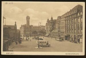 ERFURT   Bahnhofsplatz  1929