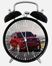 "Jeep Grand Cherokee Alarm Desk Clock 3.75"" Home or Office Decor E232 Nice Gift"