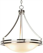 Monument 617600 Contemporary Pendant, Brushed Nickel, 16-5/8 X 23-1/2 In.