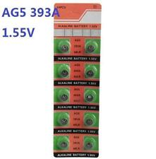 10X Batteries AG5 L754 LR48 393A SR48 Coin Button Cell Battery Watch camera ☆