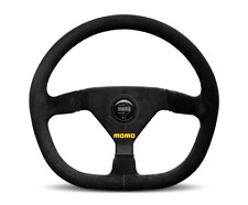 "MOMO Steering Wheel Mod 88 Black Suede 350mm + MOMO Suede Brush ""US Dealer"""