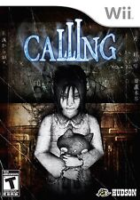 Calling [Nintendo Wii, NTSC, Hudson Soft, Puzzles, Scary Survival Horror] NEW