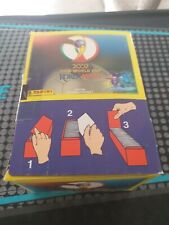 PANINI KOREA/JAPAN WORLD CUP 2002 STICKERS-1 X SEALED BOX-100 SEALED PACKETS.