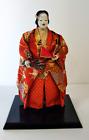 Japanese doll with Noh Mask Dancer Doll Demon Devil Vintage Samurai 50-60 years