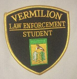 Vermilion Law Enforcement Student Shoulder Patch - South Dakota