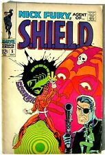 NICK FURY AGENT OF SHIELD N. 5 originale Marvel USA del 1968