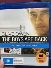The Boys Are Back ex-rental BLU RAY (2009 Clive Owen drama movie)