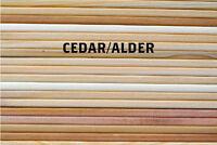 "Cedar & Alder Grilling Planks - 30 5x11"" Variety Pack for Grill Planking"