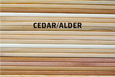 "30 Pack! Cedar & Alder Grilling Planks - 5x11"" Variety Pack for Grill Planking"