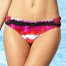 size 12 ladies ANA brand swimsuit BIKINI BOTTOM tie dye pattern NWT