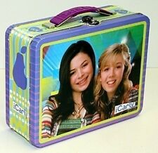 iCarly  Tin Lunch Box Carly and Sam