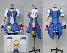 Smile PreCure! Reika Aoki Cure Beauty Cosplay Costume Custom Any Size