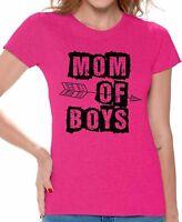 Mom of boys t-shirt Boy Mom shirt