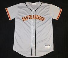 SAN FRANCISCO SF GIANTS Majestic Genuine MLB BASEBALL JERSEY Stitched Youth XL