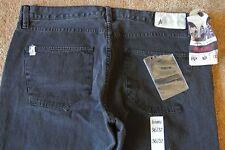 ALTAMONT Skate Crenshaw Straight Leg Jeans 36X32 NWT$98  Black-Logo's-LE #1118