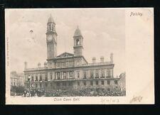 Scotland Renfrewshire CLARK Town Hall Used 1903 PPC Caledonia Series