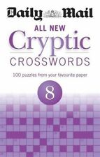 Daily Mail All New Cryptic Crosswords 8 (The Daily Mail Puzzle Books), Excellent