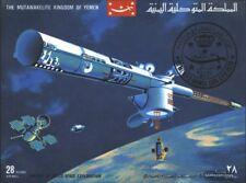 Jemen(Königreich) Block176 (kompl.Ausg.) gestempelt 1969 Geschichte der Raumfahr