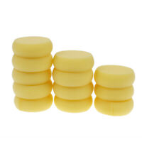 12pcs Round Synthetic Artist Paint Sponge Craft Sponges for Painting Pottery Jf