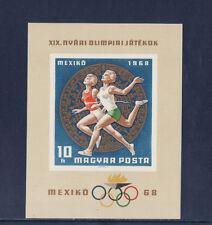 Hongrie  bloc  jeux olympiques de Mexico   1968   num: BF 71  ND   **