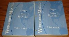 2010 Ford Ranger Shop Service Manual Volume 1 & 2 Set 10
