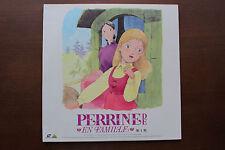 """LD Laserdisc """"PERRINE DE EN FAMILLE First series"""" Japan Anime BELL-573"""