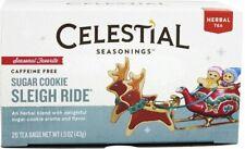 Sugar Cookie Sleigh Ride Holiday Tea by Celestial Seasonings, Pack of 2