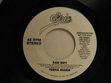 Teena Marie dj 45 BAD BOY / same song ~ Epic VG++ soul