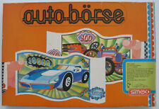 SIMEX Club Spiele - AUTO-BÖRSE - 4 Figuren + 64 Autos - Brettspiel