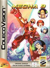 MECHA 9 for Colecovision / ADAM Cart. NEW / CIB, SUPER GAME MODULE REQ'D