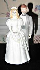 1988 EHW ENTERPRISES BRIDE GROOM WEDDING TOPPER MADE FOR ROMAN, INC, TAIWAN