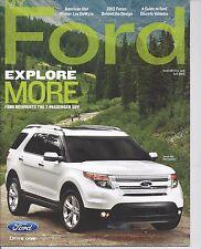 My Ford Magazine Fall 2010 2011 Explorer 1963 Thunderbird News 10 11 63