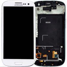 Pantalla completa display retina para Samsung Galaxy S3 I9300 LCD Táctil blanco