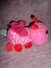 "Bug Valentine Love Soft Stuffed Plush 7"" Hot Pink Ladybug Greenbrier Intl'"
