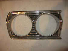 NOS Mopar 1964 Plymouth Right Head Light Bezel