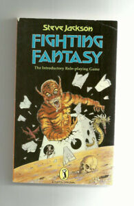 PUFFIN - FIGHTING FANTASY RPG, INTRODUCTORY ROLE-PLAYING GAME (1984 edition)