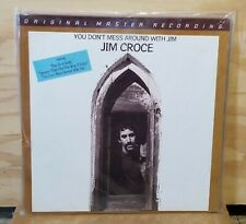 Mfsl Jim Croce-Don't Mess Around 1/2 Speed Audiophile Lp * Sealed *